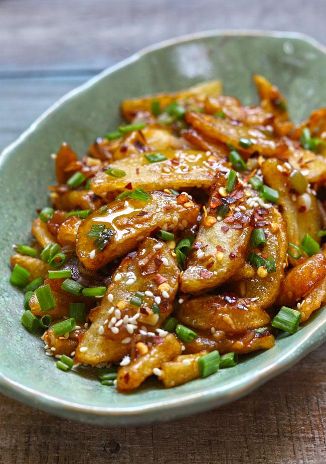 Crispy Honey Chilli Potato Fingers