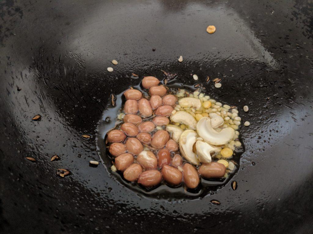 Rava Upma is a vegetarian South Indian breakfast porridge prepared with semolina and fresh vegetables.