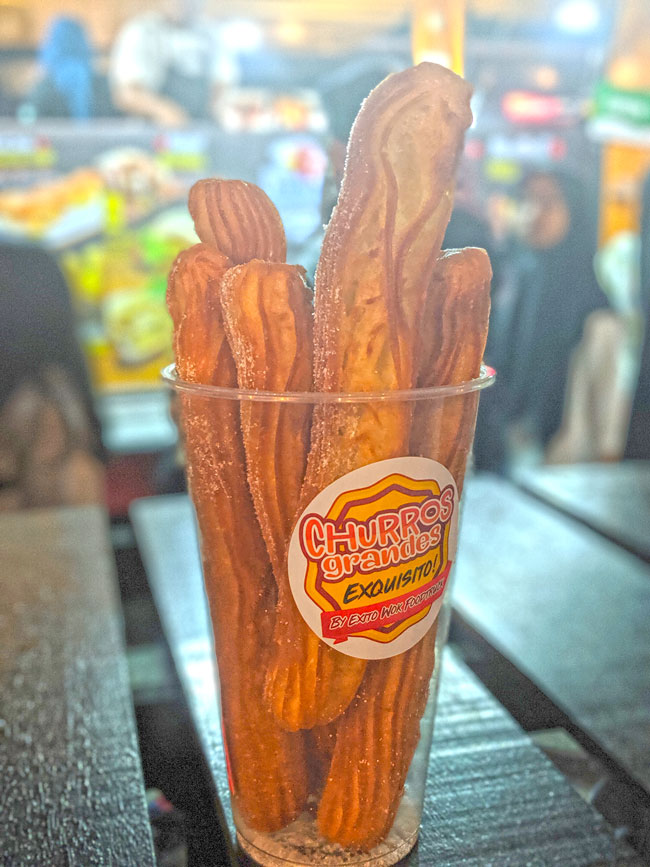 Churros at Tapak Urban Street Dining