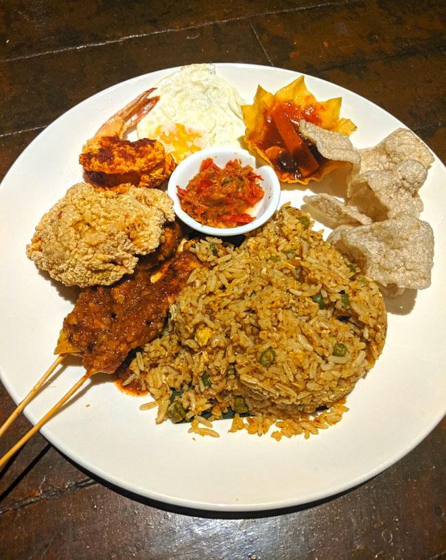 Nasi Goreng in Kuala Lumpur