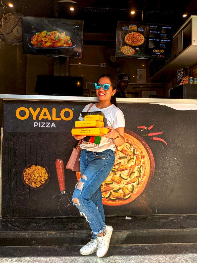 Hina Gujral Oyalo Pizza