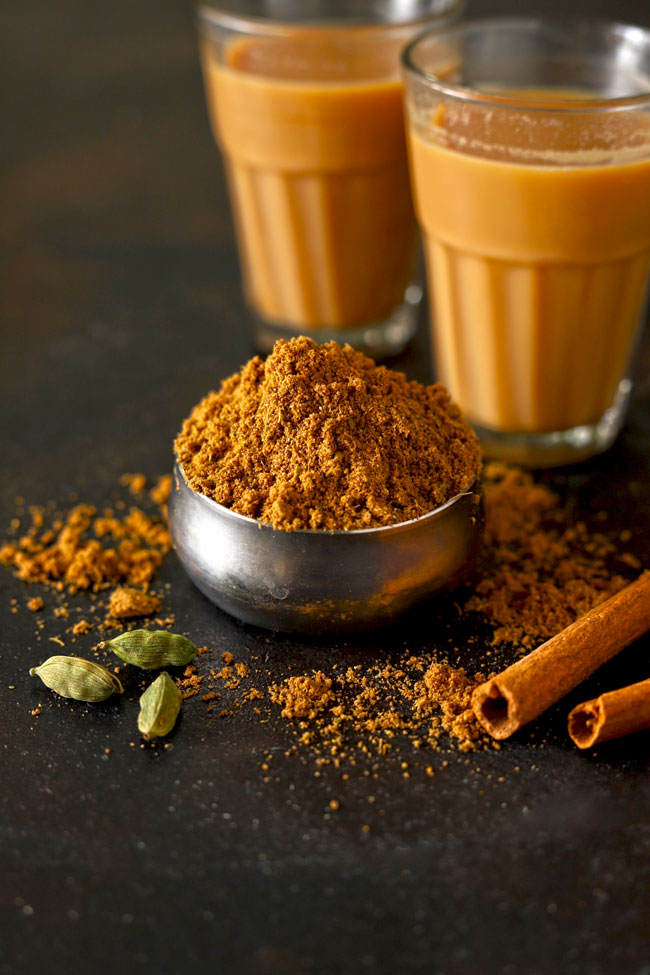 Chai Masala is an Indian spice mix mainly used to flavor the milk tea (chai).