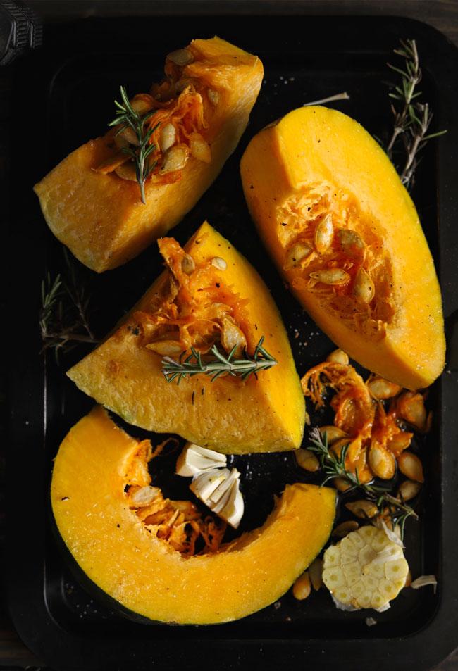 Roasting Pumpkin For Soup