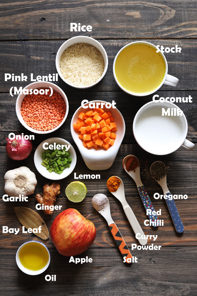 Ingredients For Mulligatawny Soup