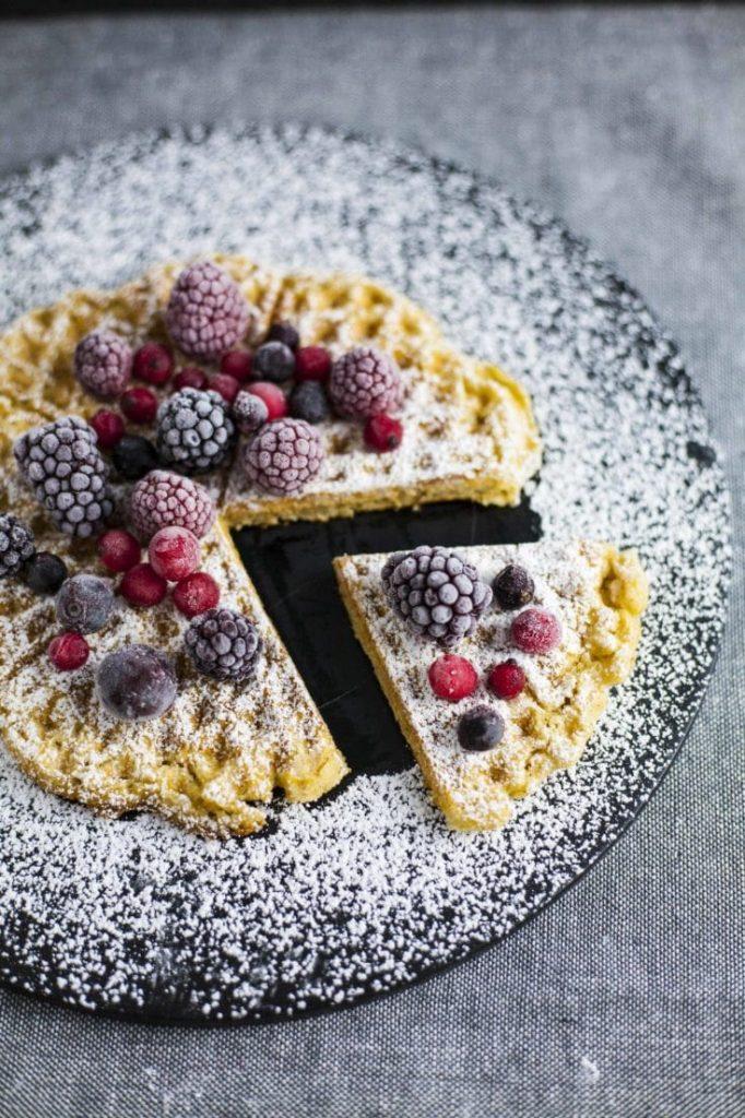 Vegan Lentil Waffles