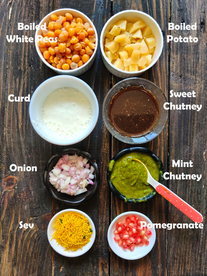 Ingredients For Aloo Chaat