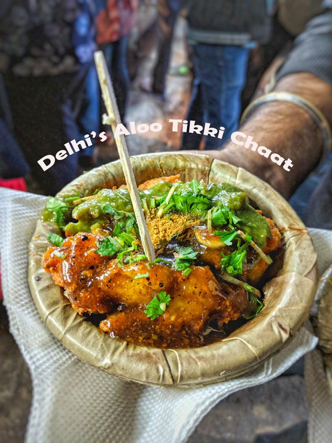 Delhi's Aloo Tikki Chaat