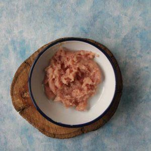 chicken meatballs mixture