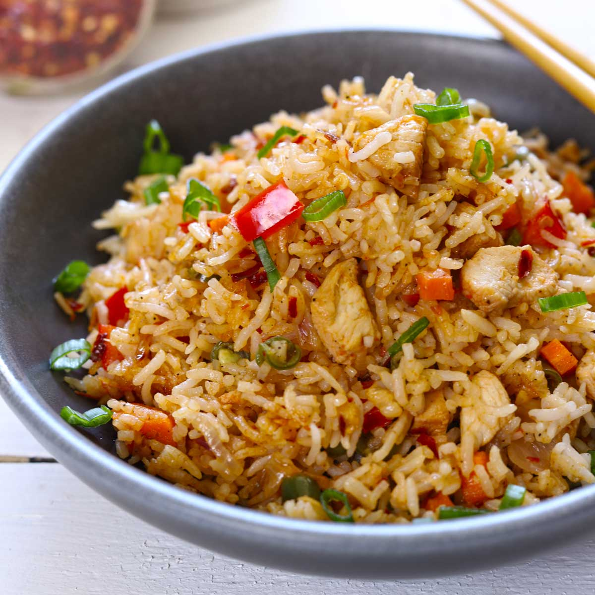 Chicken Fried Rice Recipe Quick Easy Fun Food Frolic