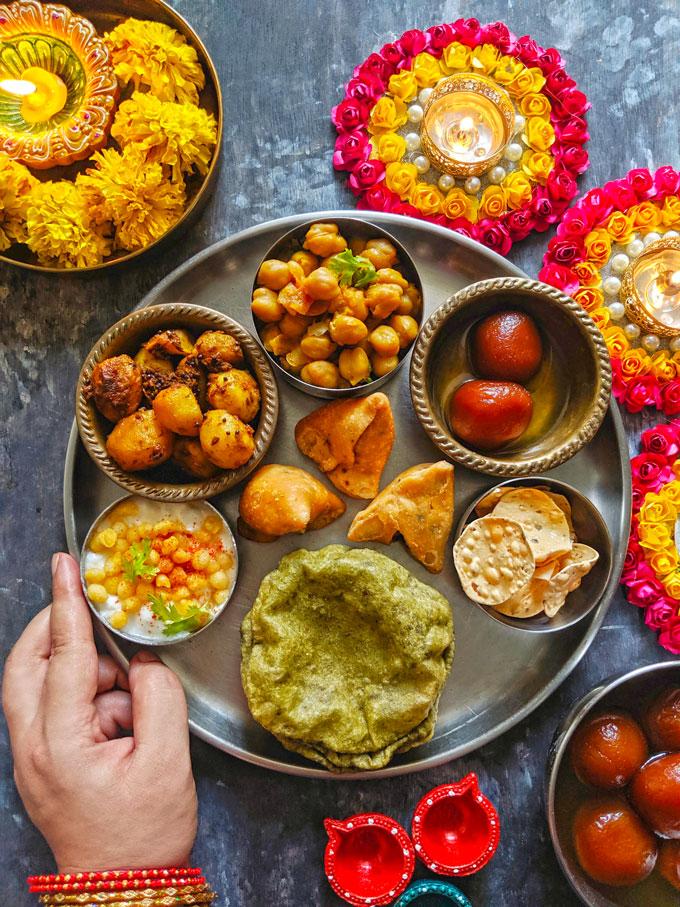 Indian Festive Thali