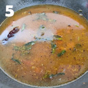 rasam cooking steps