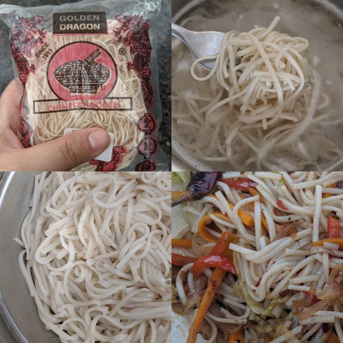 hakka noodles boiling steps
