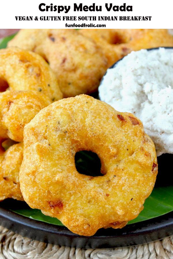 South Indian Medu Vada