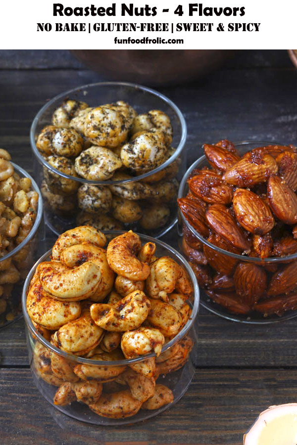 Roasted Nuts - 4 Flavors