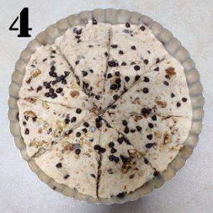 chocolate chip scones before baking