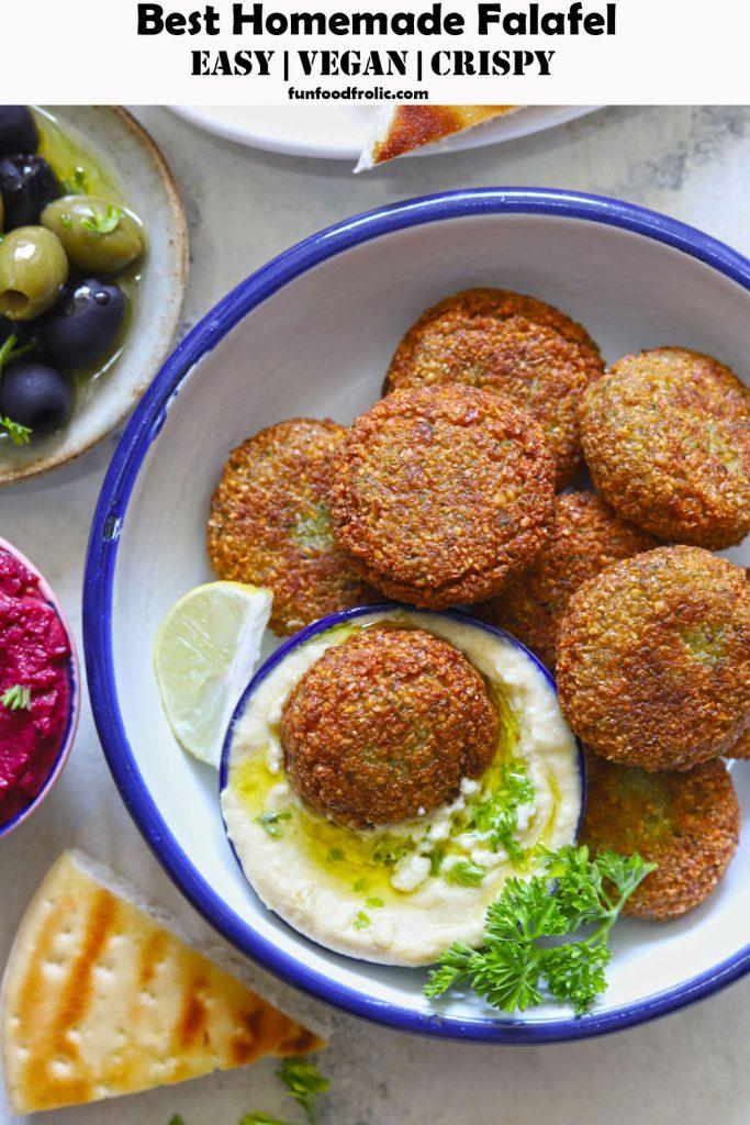 Best Homemade Falafel Recipe