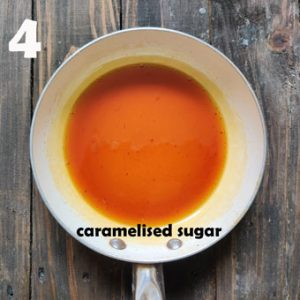 caramelised sugar
