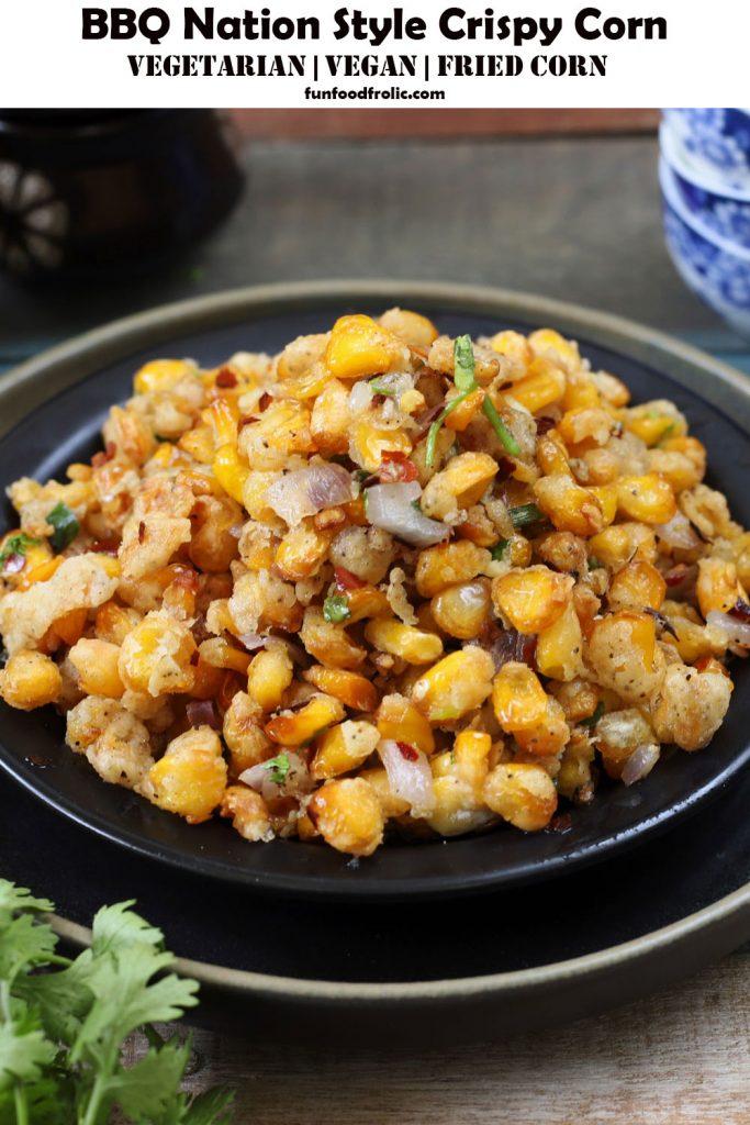 BBQ Nation Style Crispy Corn