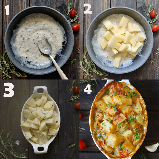 step by step baked potato recipe