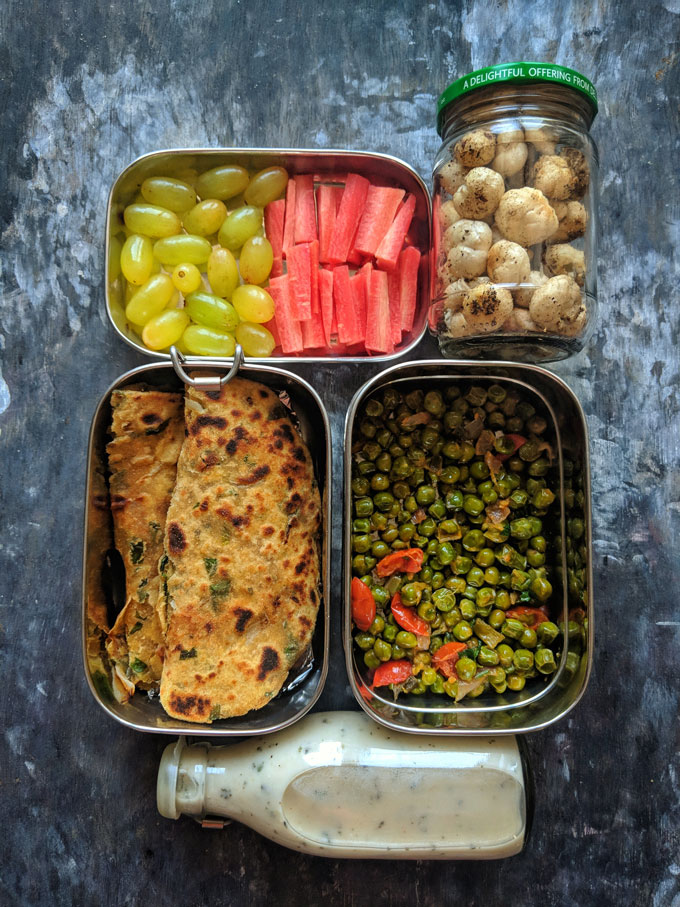 Indian Lunchbox Idea for Work