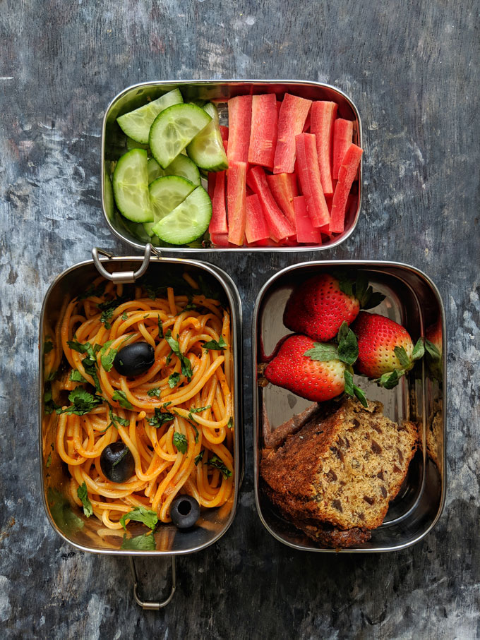 Packed Lunchbox Idea