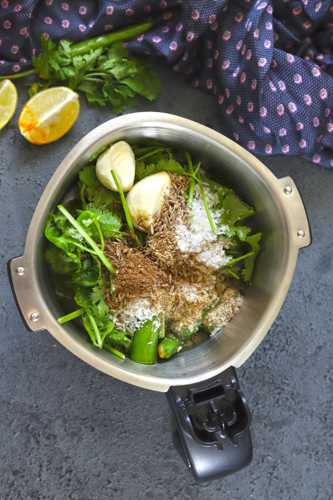 Ingredients For Mint Chutney
