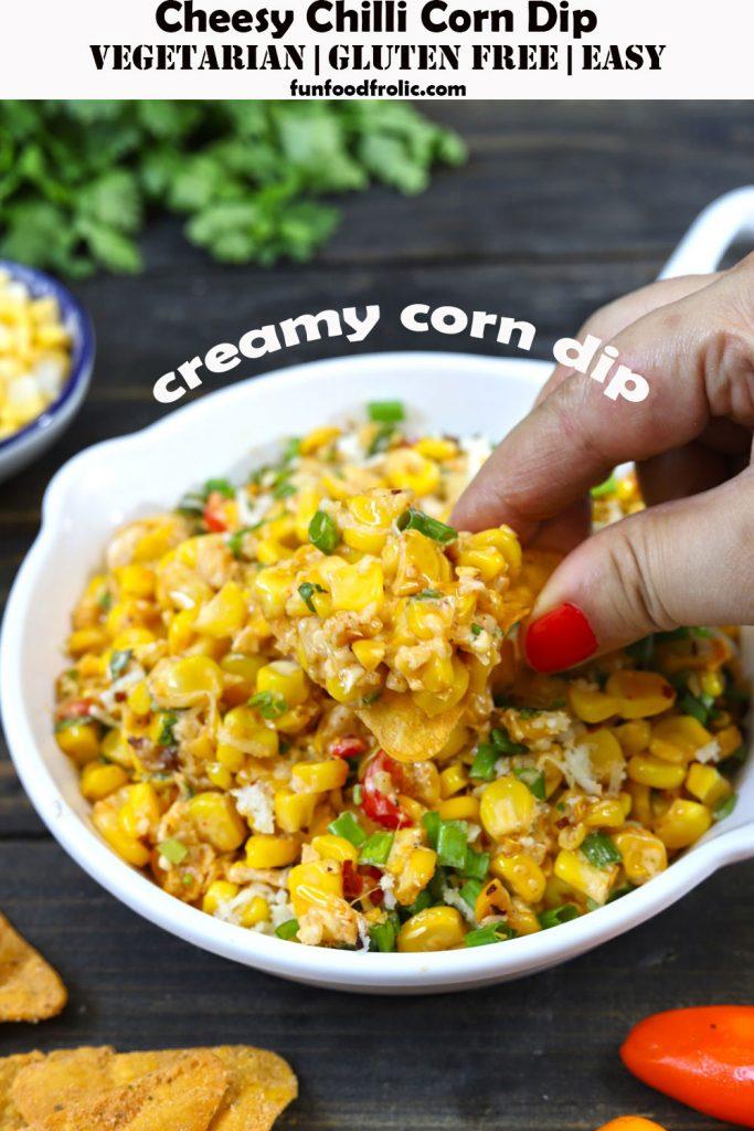 Creamy Chilli Corn Dip